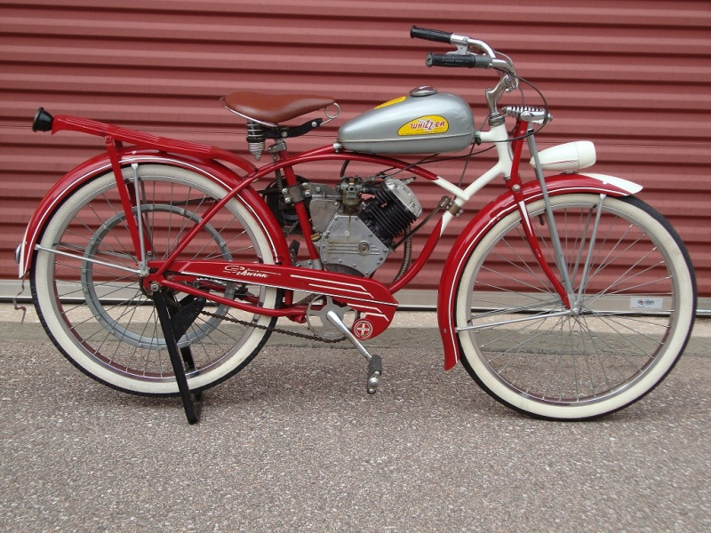 Bicycle Restoration - 1948 Schwinn Whizzer