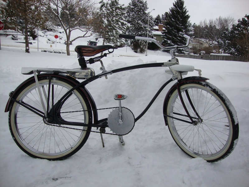 1930 Elgin Twinbar Delux Bicycle Restoration