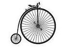 Bicycle History - Bicycle History - Penny Farthing Bicycle