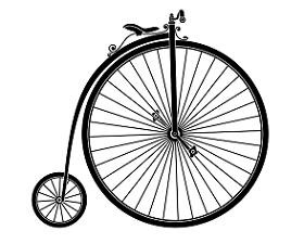 penny farthing bicycle small 11 280x225 American Vintage Bicycles