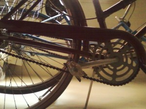 rear wheel.sprocket
