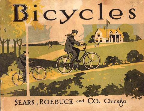 sears roebuck vintage bicycles poster 1 Sears Roebuck Vintage Bicycles
