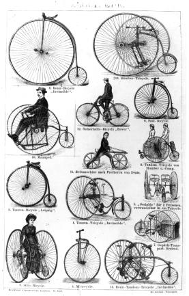 Who Invented the Bicycle